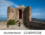 the fort saint elme above... | Shutterstock . vector #1218045238