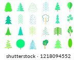 Green Trees And Christmas Trees ...