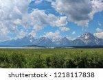 grand teton national park | Shutterstock . vector #1218117838