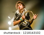 october 29 2018. concert of...   Shutterstock . vector #1218163102