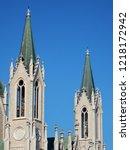 castelpetroso   detail of the...   Shutterstock . vector #1218172942