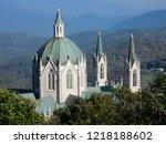 castelpetroso   sanctuary of...   Shutterstock . vector #1218188602