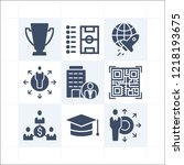 simple set of 9 icons related...   Shutterstock .eps vector #1218193675
