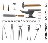 Farrier\'s Tools In Realistic...