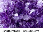 Small photo of Amethyst druse close up