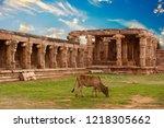 temple in gandikota  kadapa ...   Shutterstock . vector #1218305662