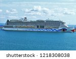 palma de mallorca  balearic...   Shutterstock . vector #1218308038