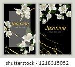 modern design for greeting... | Shutterstock .eps vector #1218315052