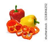 fresh  nutritious  tasty... | Shutterstock .eps vector #1218346252
