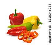 fresh  nutritious  tasty... | Shutterstock .eps vector #1218346285