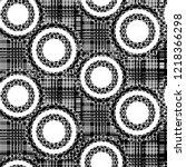 seamless pattern patchwork... | Shutterstock . vector #1218366298