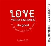 biblical scripture verse from... | Shutterstock .eps vector #1218366448