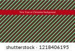 new year or christmas... | Shutterstock .eps vector #1218406195