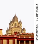 image of the distinctive vimana ... | Shutterstock . vector #1218460015