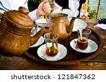 Drinking Traditional Turkish...