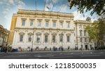 london  october  2018 ... | Shutterstock . vector #1218500035