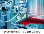 soldering iron tips of... | Shutterstock . vector #1218523492