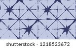 japanese kimono vector seamless ... | Shutterstock .eps vector #1218523672