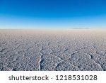 salar de uyuni  bolivia....   Shutterstock . vector #1218531028
