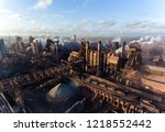 industrial city of mariupol ...   Shutterstock . vector #1218552442