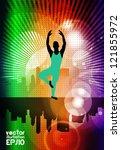 ballet dancer | Shutterstock .eps vector #121855972