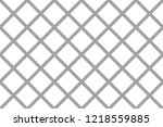 pattern with the mesh  grid.... | Shutterstock .eps vector #1218559885
