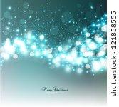 elegant christmas background... | Shutterstock .eps vector #121858555