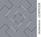 geometric seamless pattern ... | Shutterstock .eps vector #1218592228