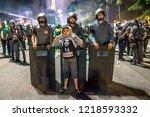 s o paulo  brazil  october 28 ... | Shutterstock . vector #1218593332