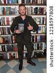 huntington  ny   oct 30  actor... | Shutterstock . vector #1218597808