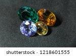 natural sapphire gemstone | Shutterstock . vector #1218601555