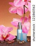 women's perfume in beautiful... | Shutterstock . vector #121860562
