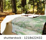 USFS Topographical Map For Navigation Through The Uinta-Wasatch-Cache National Forest