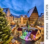 Christmas Market On The...