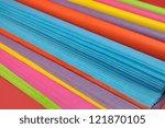 Bright Rainbow Colored Reams ...