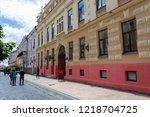 chernivtsi  ukraine  july 1 ... | Shutterstock . vector #1218704725