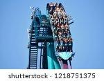 orlando  florida. october 19 ... | Shutterstock . vector #1218751375