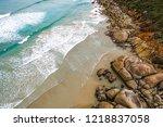 whisky bay  wilsons promontory  ... | Shutterstock . vector #1218837058