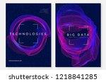 artificial intelligence...   Shutterstock .eps vector #1218841285
