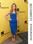 Small photo of New York, NY - November 1, 2018: Melissa Roxburgh attends the 2018 IRC Rescue Dinner at New York Hilton Midtown