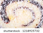 sweets soft candy nougat... | Shutterstock . vector #1218925732