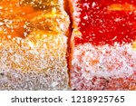sweets soft candy nougat... | Shutterstock . vector #1218925765