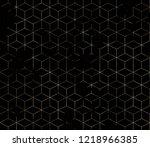 geometry texture repeat modern... | Shutterstock . vector #1218966385