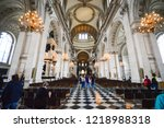 Inside St Paul's Cathedral In...