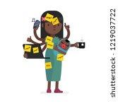 multitask vector illustration | Shutterstock .eps vector #1219037722