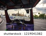 grand palace and wat phra keaw... | Shutterstock . vector #1219041382