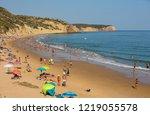 vila do bispo  portugal  ... | Shutterstock . vector #1219055578