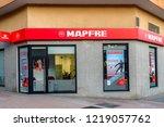 ponferrada  spain. circa... | Shutterstock . vector #1219057762