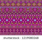 peruvian american indian... | Shutterstock .eps vector #1219080268