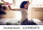 get ready and go on a new day. ...   Shutterstock . vector #1219082875